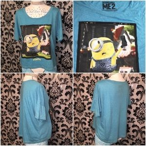 Despicable Me Oversized Crop Top Size L